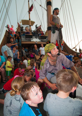 Schedule Red Dragon Pirate Cruises
